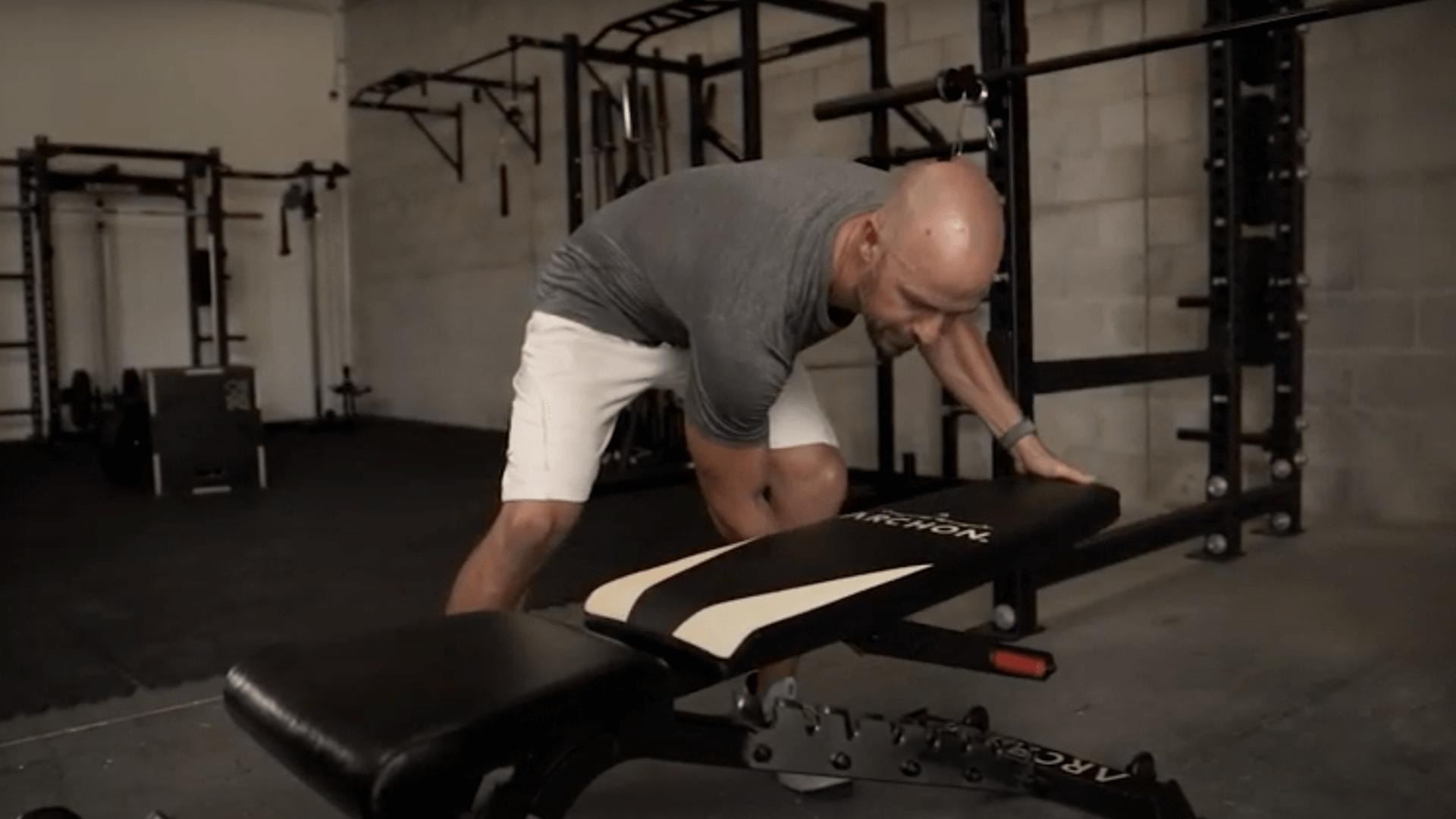 commercial bench - Archon Fitness - gym in your home - exercise equipment store