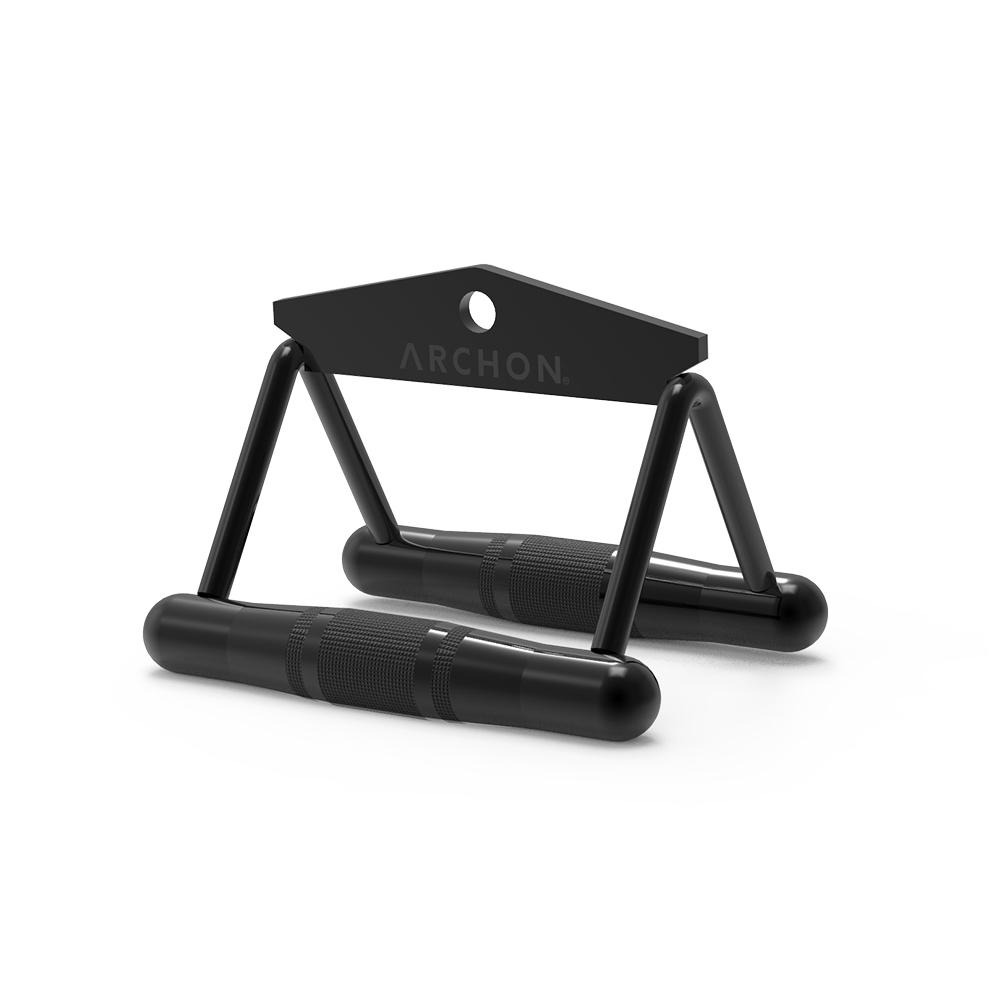archon fitness - triangle row cable attachment - cable machine