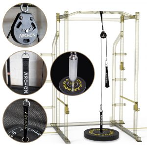 Single Pulley Cable Station – 55 / 70 SET w/ 2″ Plate
