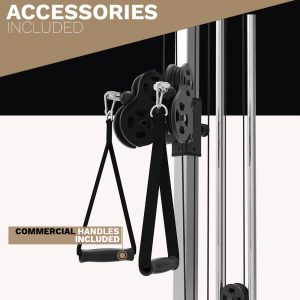 pulley station - cable machine - archon fitness
