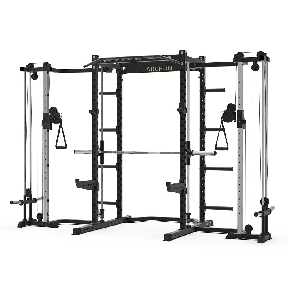 archon fitness - cable machine - smith machine