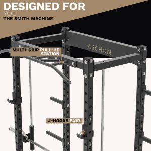 power cage - archon fitness - pull up station