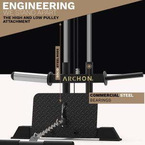 low pulley - cable machine - archon fitness
