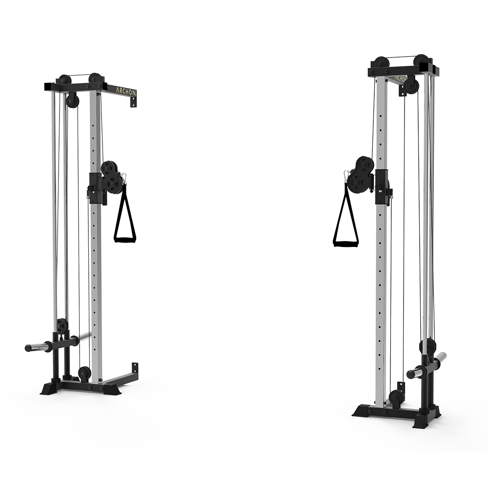 Wall Mount Cable Crossover - archon fitness - cable fitness