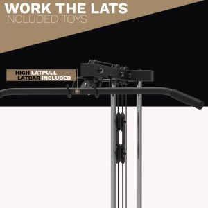 lat bar - cable attachment - archon fitness