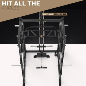 Power Cage with Lat Pull/Low Row - Archon Fitness - high quality equipment