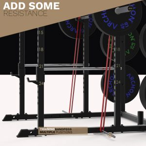 Power Cage w/ Cable Crossover | Lat Pull/Low Row