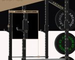 bumper plates - archon fitness - power cage