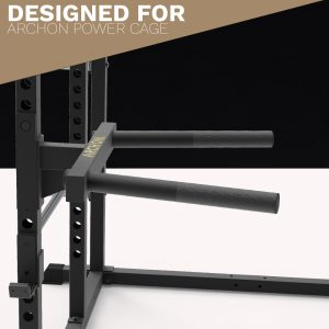 power cage - dip bar attachment - Archon Fitness