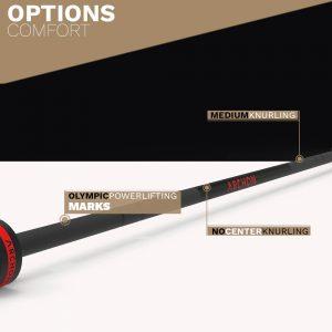 CERAKOTE Needle Bearing Olympic Bar