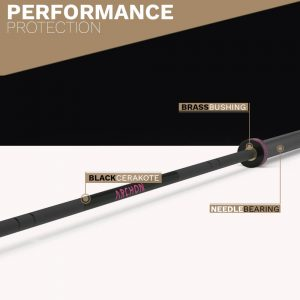 Archon Fitness - Women's Oylmpic Needle Bearing Olympic Bar