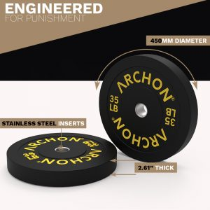 Bumper Plates - Archon Fitness - exercise equipment store