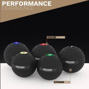 Slam Ball Set - Archon Fitness - performance deadbounce