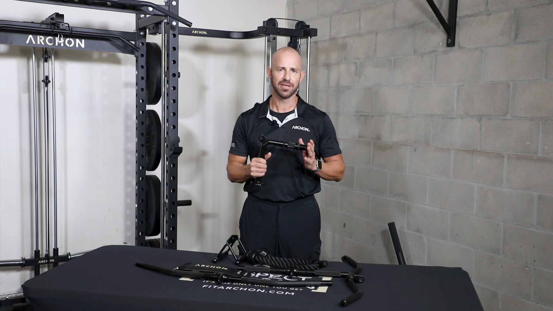 ARCHON Cable Accessory Kit - rule your body rule your mind - home and commercial fitness equipment