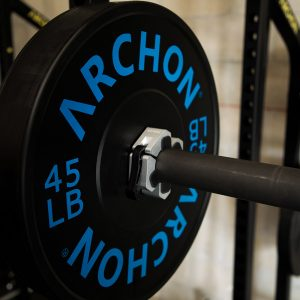 Archon Fitness Olympic Barbell- gym in your home - competition clips