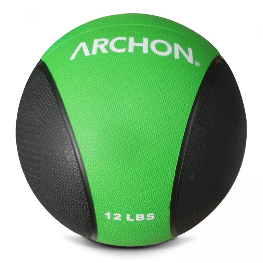 Archon Fitness - gym in your home - 12 pound medicine ball