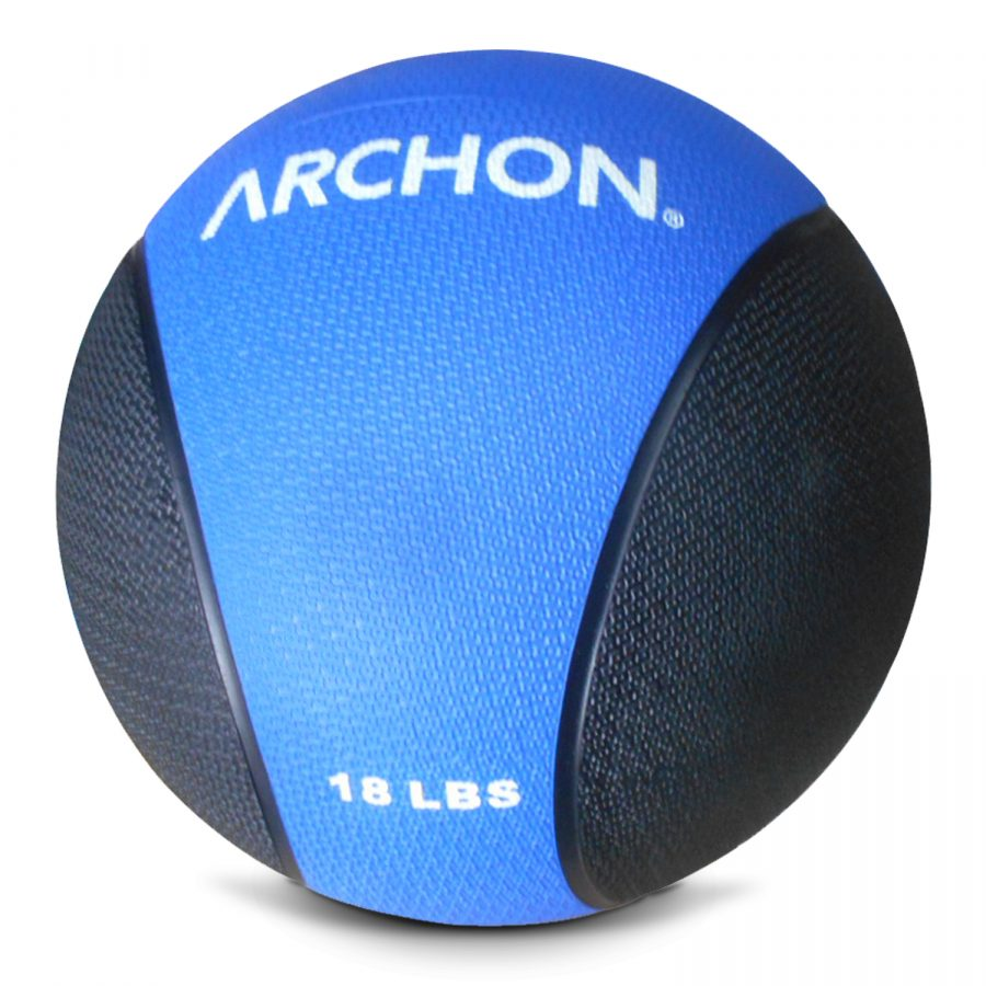 Archon Fitness - gym in your home - 18 pound medicine ball