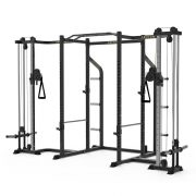 6 Upright Power Cage with Cable Crossover