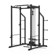 6 Upright Power Cage with Lat Pull | Low Row