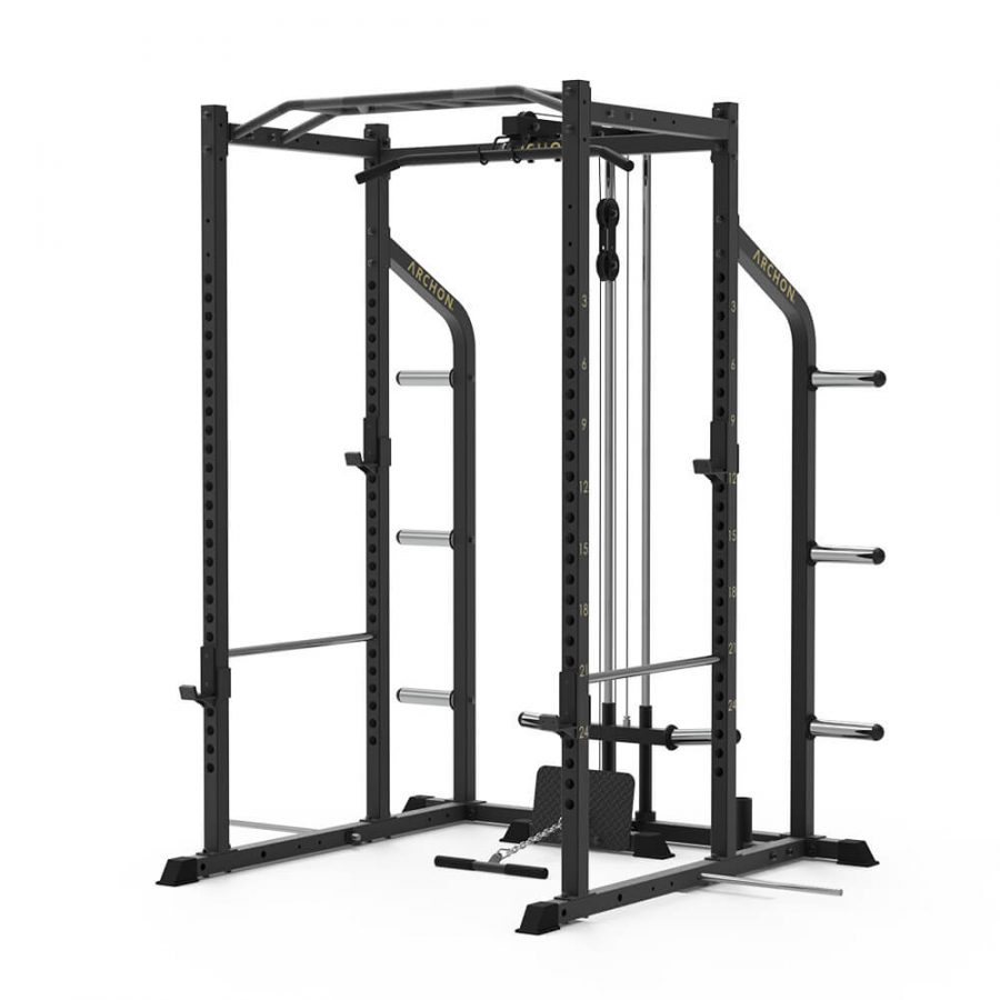 Power Cage - Lat Pull/Low Row - Archon Fitness - high quality equipment