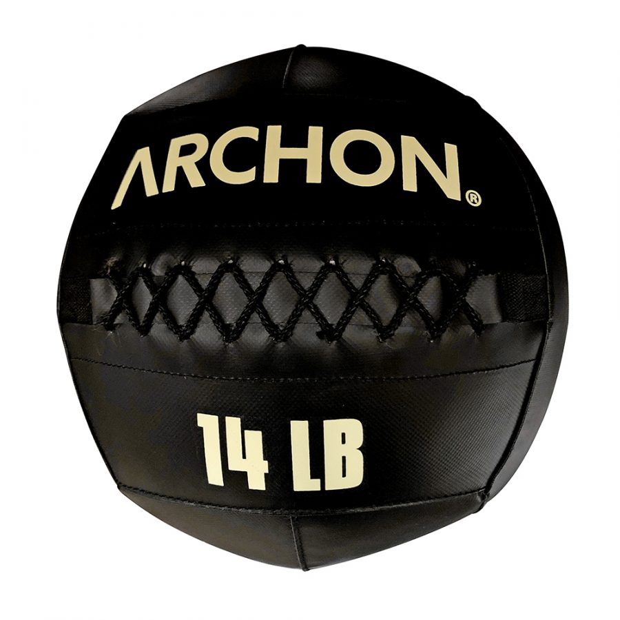 Archon Fitness - gym in your home - 14 pound wall ball