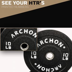 45/25/15/10 LB HTR Plates - Archon Fitness - exercise equipment store