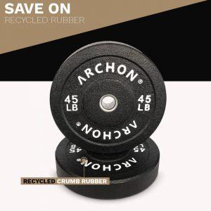 45/25/15/10 LB HTR Plates - Archon Fitness - exercise equipment store
