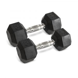 20LB Hex Dumbbells - Archon Fitness - exercise equipment store