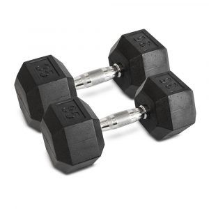 35LB Hex Dumbbells - Archon Fitness - exercise equipment store