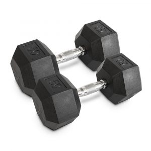 50LB Hex Dumbbells - Archon Fitness - exercise equipment store