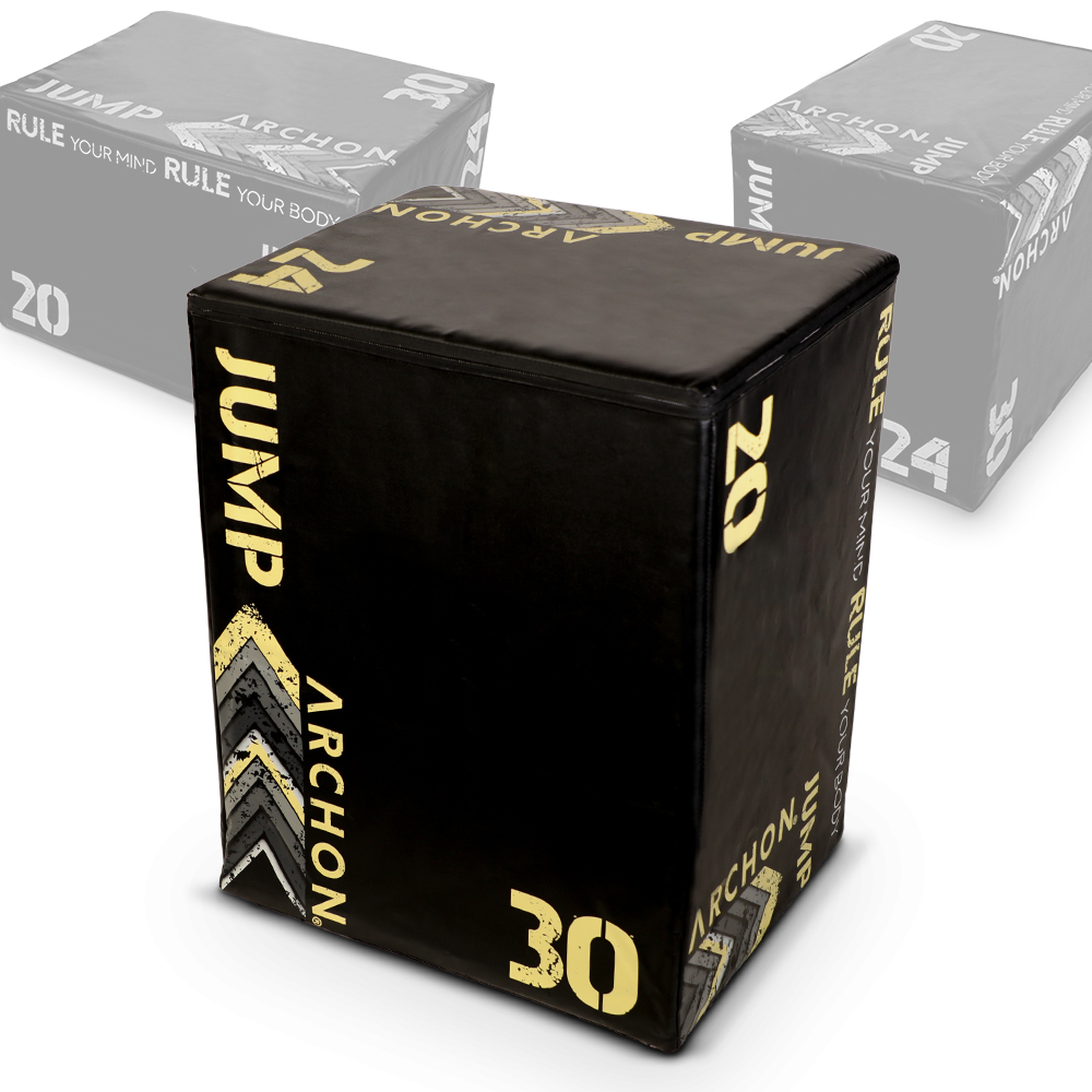 Archon Fitness - gym in your home - 3 in 1 Soft Plyometric Box